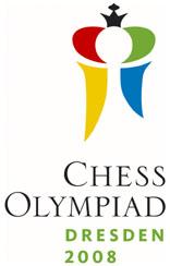 Sakkolimpia 2008 Drezda logó