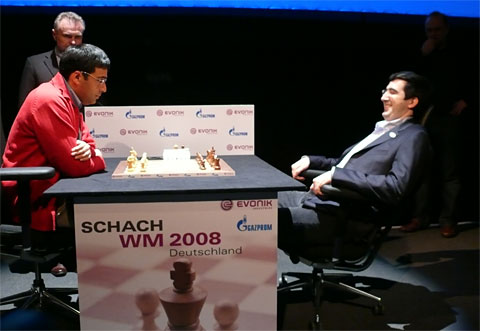Anand - Kramnyik székpróba a világbajnokságon