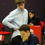 Magnus Carlsen és Fabiano Caruana - Corus Wijk Aan Zee 2009