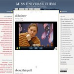 A sakk világszépe meghirdetőjének honlapja